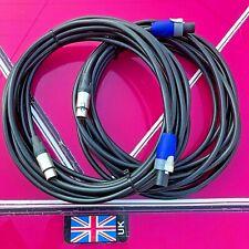Bose 802 (par) 8mtr Speakon a XLR Cables de altavoz núcleos 2.5mm MB4/502 Panaray