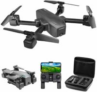 Cooligg FPV Wifi RC Drone With HD Camera Foldable Quadcopter Selfie 4K Gift Toys