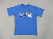 Reebok San Diego Chargers Shirt Adult Medium Blue White NFL Football Mens