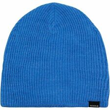 NIXON New Mens Headwear Knit Beanie Hat Blue