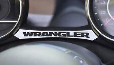 PLAQUE JEEP WRANGLER JL SPORT SAHARA RUBICON PENTASTAR V6 GME CRD UNLIMITED SKY
