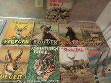 1948-1963 Stoeger Shooter'S Bible Gun Book Lot Of 9 Different