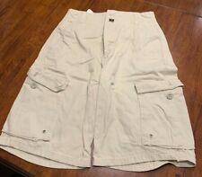 Nautica Boys Shorts Size 27 Cream