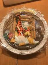 Bradford Exchange Bouncing's what Tiggers do Best, 3D Plate