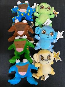 Mcdonalds 2004 neo pets happy meal toys Lot of 7