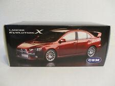 (gol) 1:18 CSM Mitsubishi Lancer Evolution X nuevo embalaje original