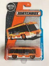 Matchbox MBX Adventure City Swift Shuttle Bus Orange White Scale 1:64 New