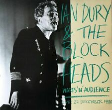 """Ian Dury & The Blockheads - Warts 'N' Audience (Live: 22 December 1990) (LP + 7"""""""