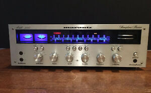 Marantz 2245 Stereo Receiver - Good Working Condition, Led Upgrade