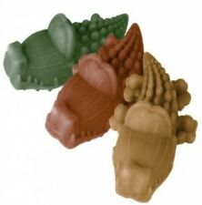 Dog Chews ~ Whimzees 6 x LARGE Alligators Crocodiles Vegetarian ~ 3 Flavour Mix