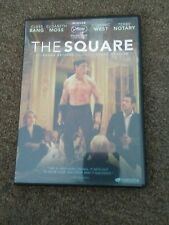 The Square (DVD, 2018) brand new just without plastic
