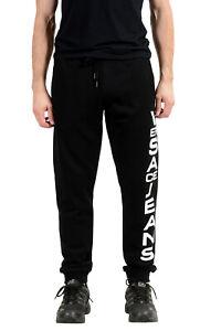Versace Jeans Men's Black Logo Sweatshirt Sweatpants sz S M L XL 2XL