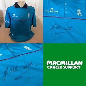 Charity auction: Signed retro England Cricket ODI shirt - Phil Tufnell