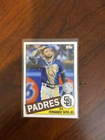 2020 TOPPS FERNANDO TATIS JR 1985 35TH ANNIVERSARY BASEBALL CARD #85TB-37