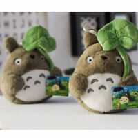 My Neighbor Totoro Plush Doll Cute Taking Leaf Xmas Kids Sofa Toy Bed Soft Gift