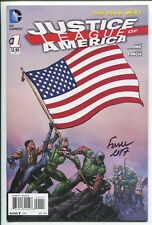 Justice League America #1 - Signed By Cover Artist David Finch - Dc Comics/2013