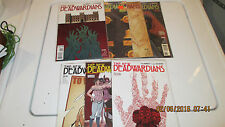 Huge Lot DC Comics New Deadwardians #2-8 (2012) Vertigo