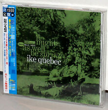 BLUE NOTE CD TOCJ-6485: IKE QUEBEC - It MIght As Well Be Spring OOP JPN 2005 OBI