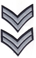 Royal Canadian Air Cadet 2 Corporal Rank Stripes / Chevrons