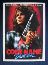 Filmplakatkarte videoplus  Code Name Dancer   Kate Capshaw, Jeroen Krabbé