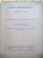 1926 NEUROLOGIA LIBRO AUTOGRAFO DI ARRIGO FRIGERIO 'DECEREBRAZIONE'