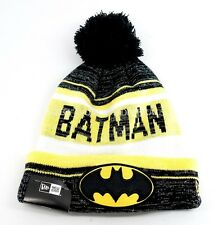 New Era Winter Snow Dayz Batman Knit Pom Beanie - One Size