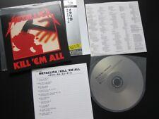 Japan-Shm-CD: Metallica - Kill 'em all (Mini-LP-Cover)
