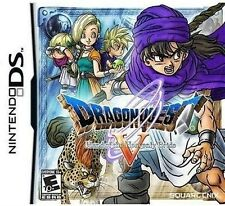 NINTENDO DS NDS GAME DRAGON QUEST V HAND OF THE HEAVENLY BRIDE BRAND NEW SEAL