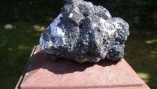 """3"""" X 4 1/2"""" SPECTACULAR! - Spahelerite, Galena & Pyrite Specimen - Huanzala,Peru"""