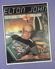 Elton John - Louder Than Concorde Tour- US Concert Programme 1976 - Unused Stock