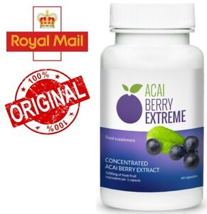 Acai Berry Extreme supplement, lose weight, burn fat, more energy, better health