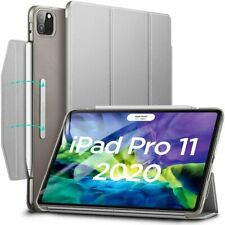 "ESR Yippee Trifold Smart Case Cover for iPad Pro 11"" 2018 and 2020 Silver Grey"