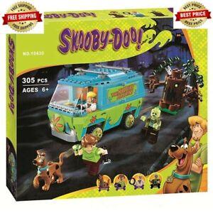 Scooby Doo Mystery Machine 10430 Mini Figures Building Block Toys Set Kids Gift