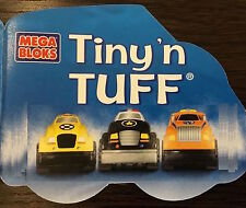 3 X Mega Blocks-Tiny & Tuff CARS (voiture de police, Utilitaire Camion, Taxi)