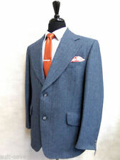 Viscose Single Striped Suits & Tailoring for Men