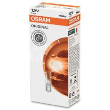 10 x OSRAM Original 12v T5 286 W2x4.6d 1.2w Capless Dashboard Car Light Bulbs