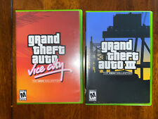 Grand Theft Auto The XBox Collection III & Vice City Complete GTA Original Games