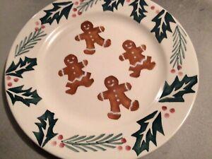 Hartstone Pottery Gingerbread Dinner Plate USA