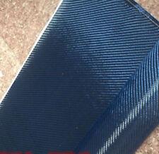 50cm*100cm Mixed Tissu en fibre de carbone & bleu MADE WITH Kevlar Carbone 200gsm Chiffon