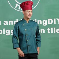 Stitched Chef Jacket Coat Hotel Waiters