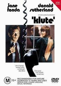 Klute (1971) DVD Jane Fonda, Donald Sutherland, Charles Cioffi Crime RARE MOVIE