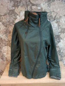 Naketano Women's   jacket green gray Color size L