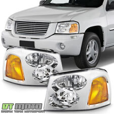 2002-2009 Gmc Envoy Headlights Headlamps Factory Style Replacement Left+Right (Fits: Gmc)