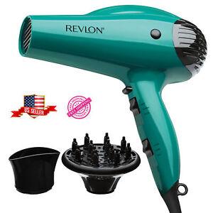 Ionic Hair Dryer Revlon Professional Turbo Blow 2 Speed Volume Diffuser 1875W
