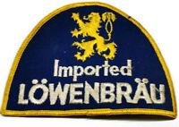 Lowenbrau Patch Imported Beer Vintage