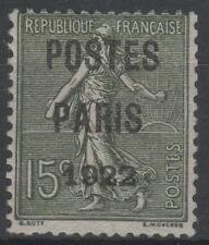 """FRANCE STAMP TIMBRE PREOBLITERE 31 """" SEMEUSE POSTES PARIS 1922 """" NEUF xx TB N134"""