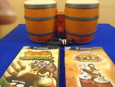 gamecube DONKEY KONGA + JUNGLE BEAT + BONGOS  Nintendo PAL DONKEY KONG