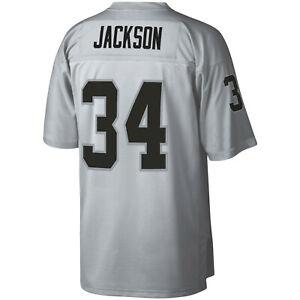 Mitchell Ness Oakland Raiders Bo Jackson 1988 Platinum 100 Retired Player Jersey