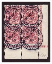 Marianen  Minr. 3 I Eckrand 4er Block ° Saipan 1.1.oo