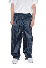 Pantalons bleus en polyester pour garçon de 2 à 16 ans